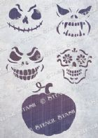 Pumpkin Face Set